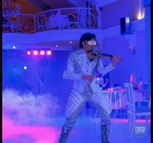 Алекс Векслер - шоу лазерная скрипка